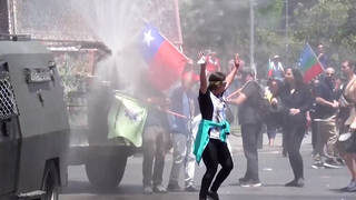 H3 chilean president seeks deploy military streets amid protests