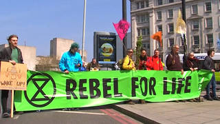 H13 climate activist actions europe protests sit ins marches