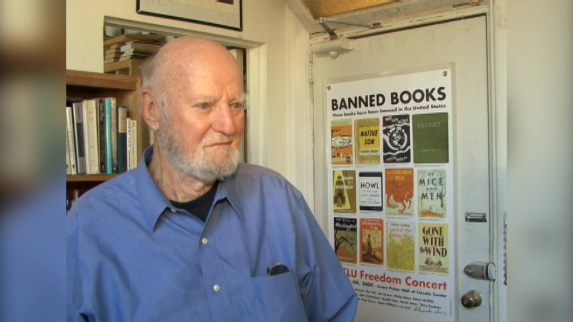 Iconic Beat Generation Bookseller & Poet Lawrence Ferlinghetti Turns 100;  Watch Our 2007 Interview