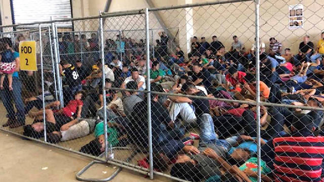 H1 dhs texas migrant jails detention overcrowding costello rio grande valley report migrants immigration