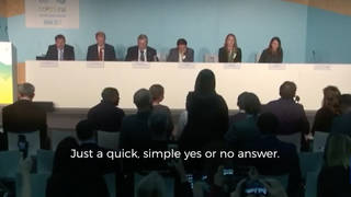 Amy goodman bonn questioning panelists