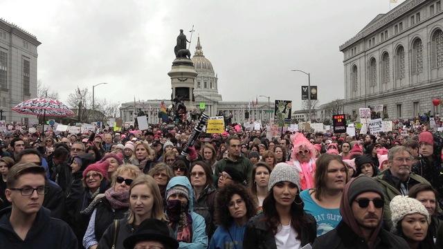 San fran womens protest button1