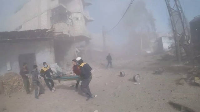 H11 syria ghouta airstrikes