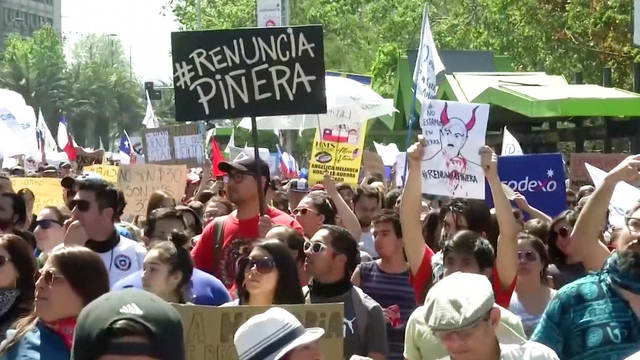 H4 chile pinera protests death toll rises 18 human rights group torture