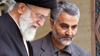H1 us assasinates powerful iranian general qassim suleimani baghdad airport