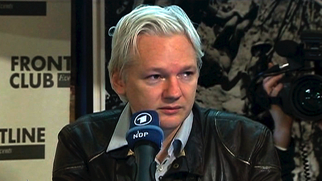 Assange button