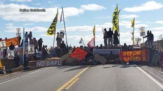 S2 road blockade