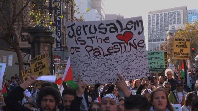 H4 palestine protest