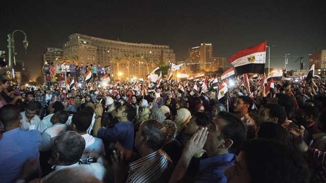 Mass protests egypt