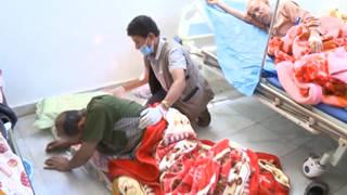 Yemen cholera hospital