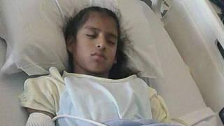 Rosa maria hospital bed