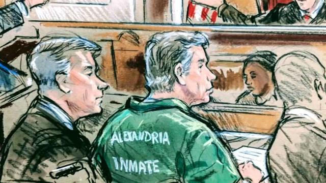 H1 manafort sentencing court sketch