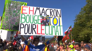 H3 g7 summit protests biarritz france climate crisis economic gender inequality