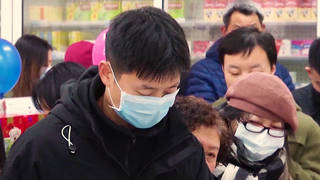 H9 chinese authorities seall off city wudan coronavirus spreads