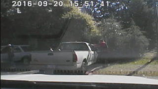 BREAKING: Charlotte Police Release Two Videos of Keith Lamont Scott Shooting Death; Scott Hands at Sides, Stepping Back