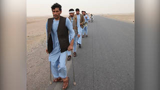S afghan peace march