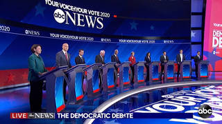 H1 debate candidates