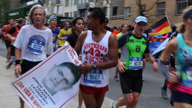 Ayotzinapa marathon 1