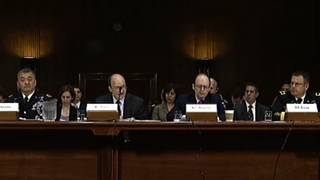 Armed services hearing