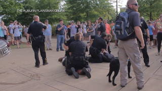 H12 auburn university protest