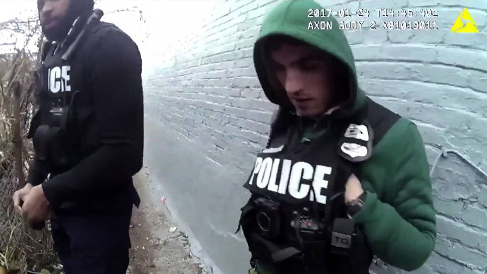 H12 baltimore police bodycam