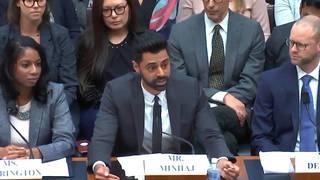H11 hasan minhaj congress testimony house financial services committee student debt crisis education too big too fail