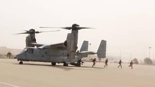 H10 us holds joint military exercises saudi arabia yemen war escalates