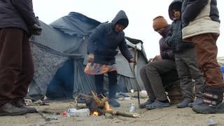 H4 hungary starving migrants
