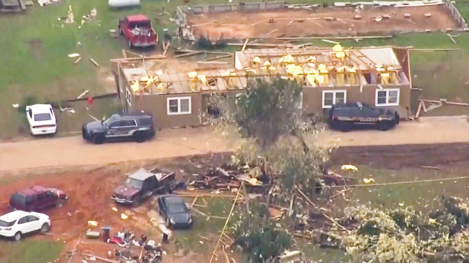H5 alabama aftermath tornado