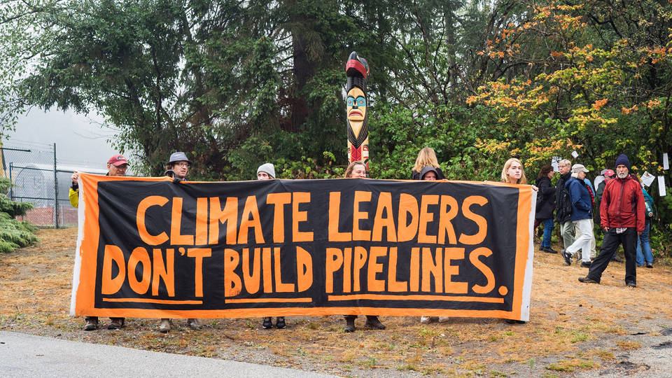 H trans mountain pipeline