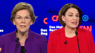 H3 nyt endorses senators warren klobuchar sanders gets backing jayapal pocan