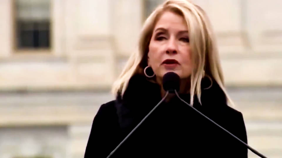 Republican congresswoman apologizes for saying 'Hitler was right on one thing'