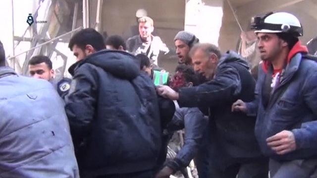 H04 damascus airstrike