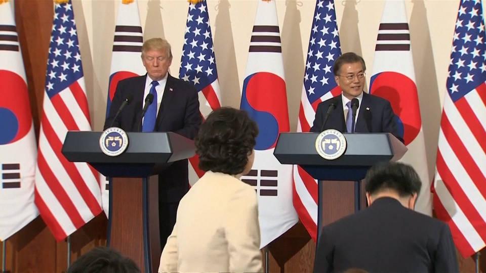 H9 trump nk south korea gaffe