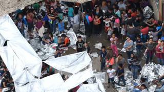 H9 customs border patrol mcallen texas migrants intake halted