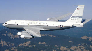 H trump to withdraw from open skies treaty surveillance plane