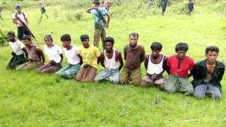 H6 rohingya massacre soldier trial