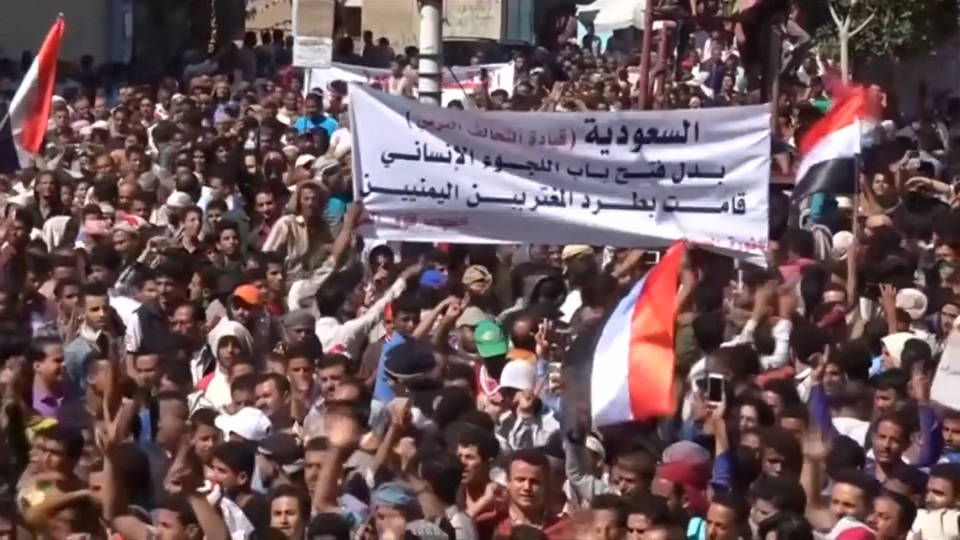 H6 yemen protest