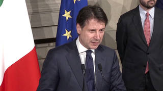 H5 italy prime minister guiseppe conte resigns matteo salvini right wing populist no confidence vote elections