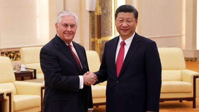 Tillerson china