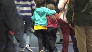 Seg children airport separate