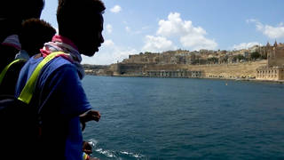 H8 malta migrants arrive