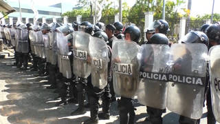 H5 nicaragua police arrest anti government protesters