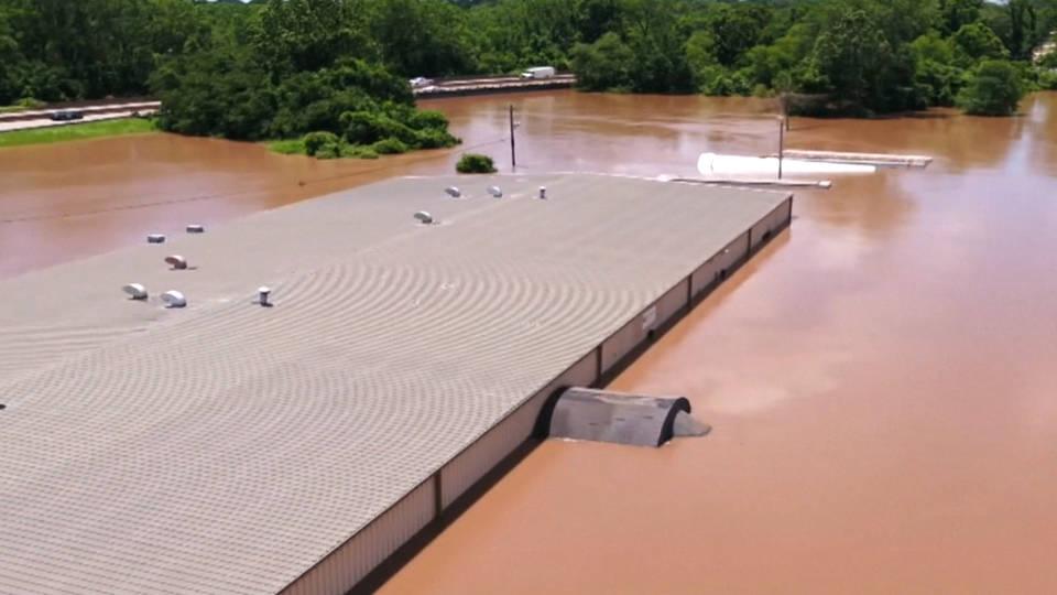 H10 midwest flooding arkansas mississippi missouri rivers