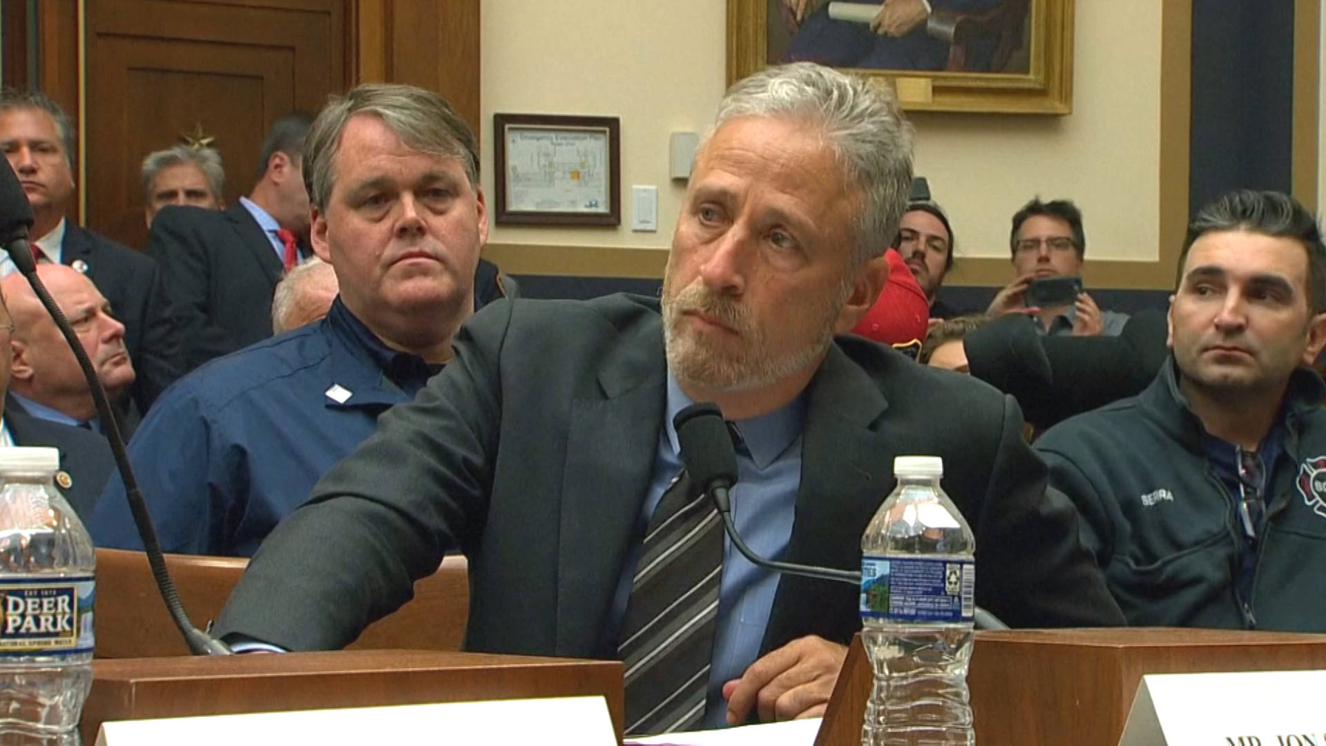 Jon Stewart Blasts Congress over Funding for 9/11 Responders