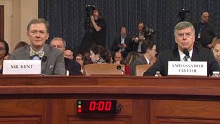H1 public impeachment hearing trump ukraine kent taylor bidens