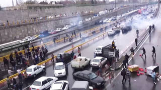 H6 iran videos emerge bloody crackdown against protestors