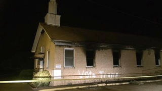 H04 church vandalized