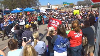 H8 oklahoma teacher march strike continues