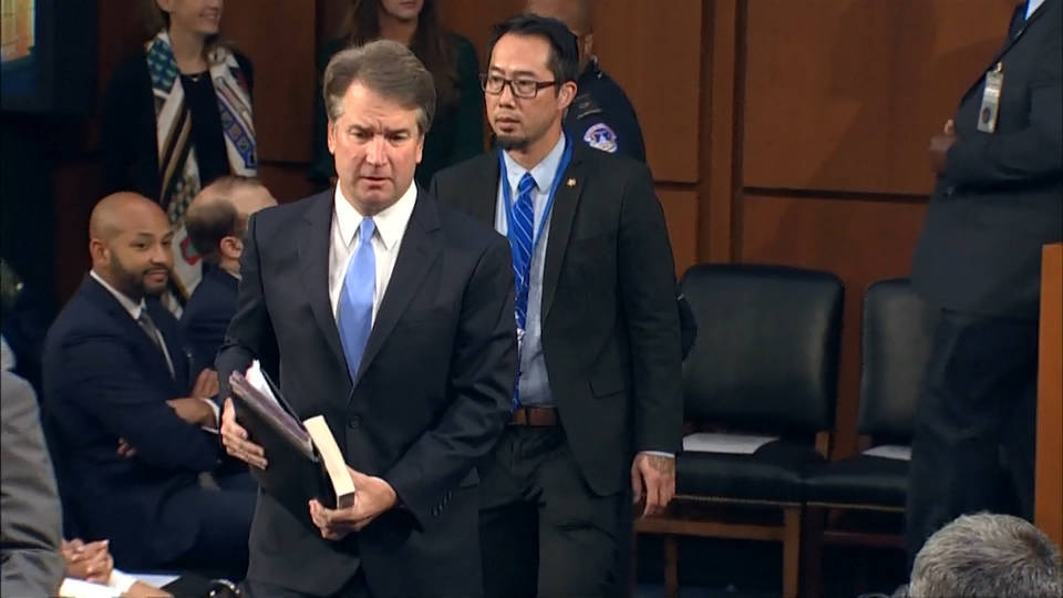 Kavanaugh accuser willing to testify before Senate committee, lawyer says